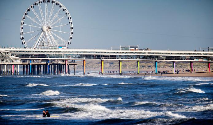 Voor de kust bij Scheveningen komt de 'Proeftuin op de Noordzee'.