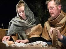 Maria en Jozef zijn onderweg naar Zwammerdam