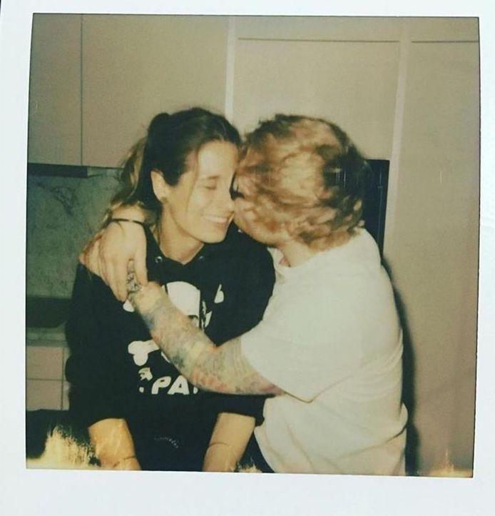 Ed Sheeran et sa femme Cherry Seaborn