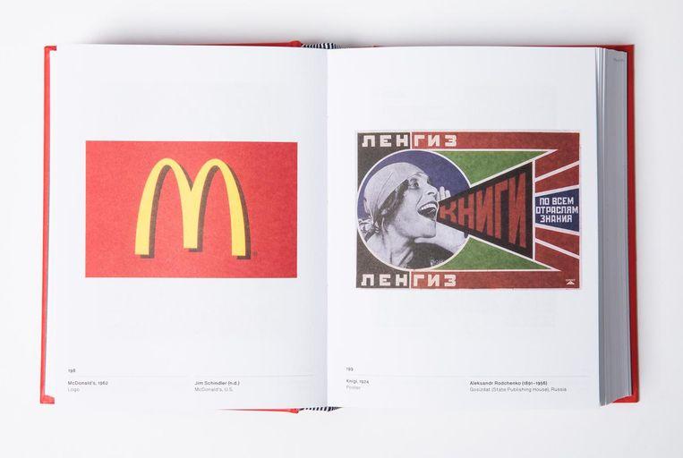 Het logo van McDonalds staat voor massaconsumptie, inclusief alle bijbehorende uitwassen zoals globalisering, bio-industrie en obesitas. Beeld