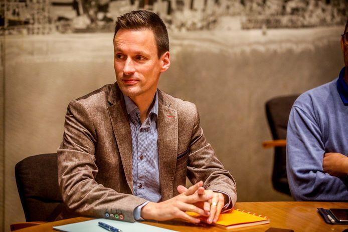 Oostende coalitiegesprekken: Bjorn Anseeuw
