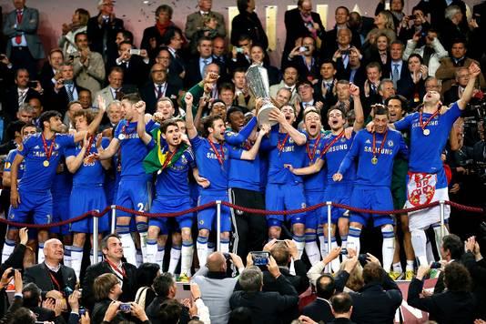 Chelsea kwam in 2012/2013 niet door de poulefase van de Champions League, maar won dat seizoen nog wel de Europa League.
