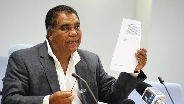 Politicus Ramonsito Booi in 2010. Beeld anp