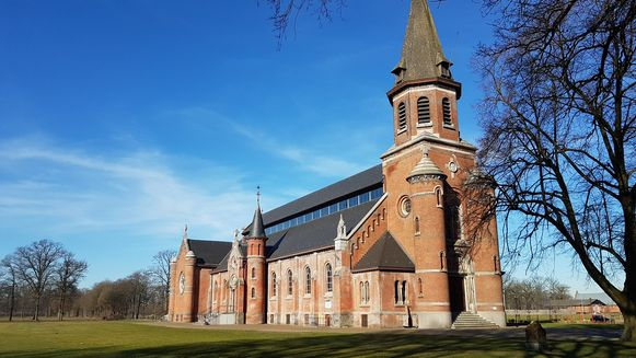 De kapel van de kolonie in Merksplas