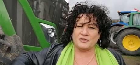 Activiste Caroline van der Plas uit Deventer betreurt misdragingen Groninger boeren