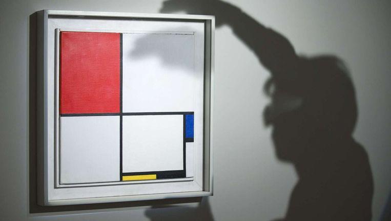Compositie No III (Compositie met Rood, Blauw, Geel en Zwart) Beeld afp