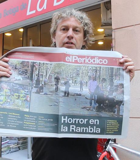 Edwin Winkels: Vreselijke beelden vullen voorpagina's Spaanse kranten