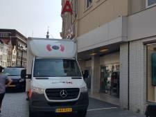 Plafond Bossche HEMA deels ingestort: 'Gelukkig was er niemand aanwezig'