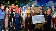 Jongerentoneel 't Komt in orde schenkt 1.500 euro aan Make-A-Wish