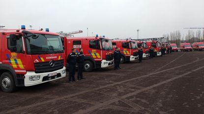 Fluvia krijgt 11 nieuwe brandweerwagens