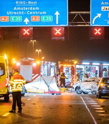 Voorarrest verdachte dodelijk ongeval A2 verlengd: Utrechter zit nog zeker 3 maanden vast