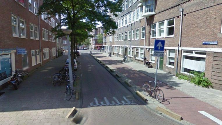 Willem Schoutenstraat, Amsterdam Beeld Google Street View