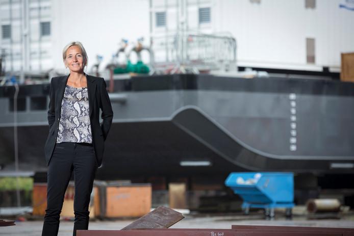 Thecla Bodewes van scheepswerf De Kaap in Hasselt