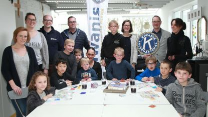 Verjaardagsfeestje voor Siebe dankzij sponsoring Kiwanis