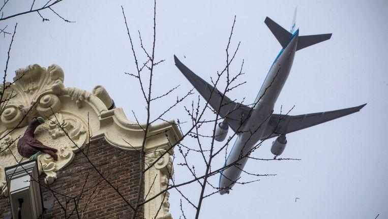 Ook inwoners van Amsterdam-Centrum kunnen geen bezwaar maken als ze buiten de geluidszone wonen. Beeld maarten brante