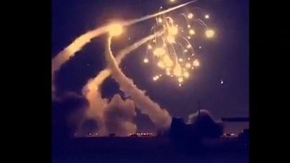 Zeven onderschepte raketten boven Saoedi-Arabië zorgen voor vuurregen