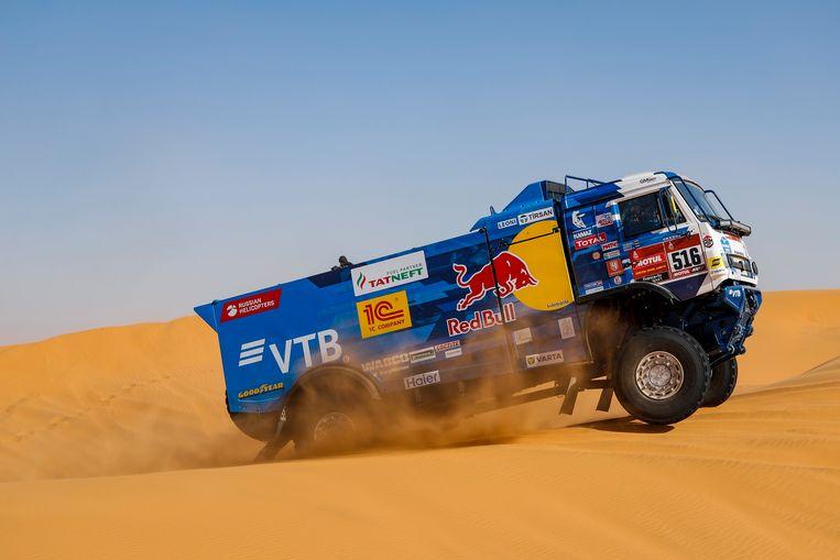 De truck van Anton Shibalov.