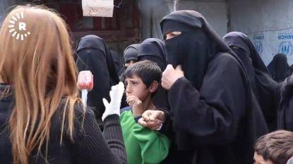 IS-vrouwen in Syrië denken dat ze coronavirus niet kunnen krijgen