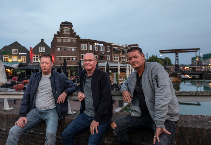 Mark Lommen, Marcel Verberkt en Leon van Teeffelen (vlnr.)