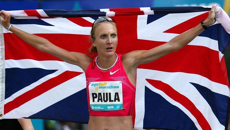 Paula Radcliffe brak in 2003 het wereldrecord op de marathon.