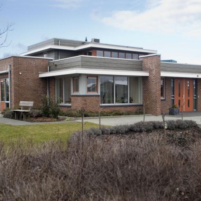 Het hospice aan de Mauritslaan in Zierikzee ging in 2006 open. foto Dirk-Jan Gjeltema