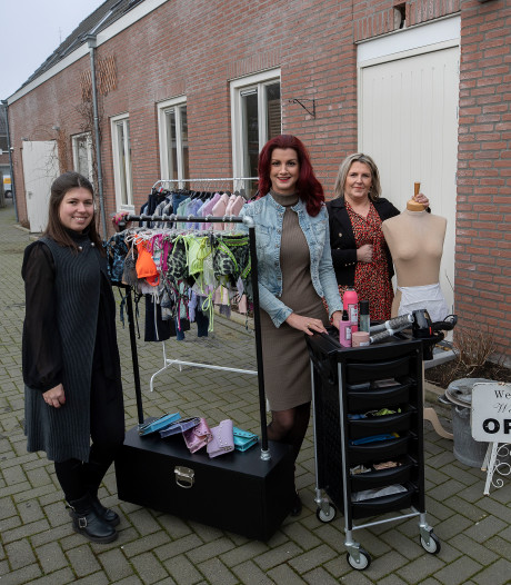 Shoppen bij de speciaalwinkeltjes in de 'damesstraat' in Aalst in trek