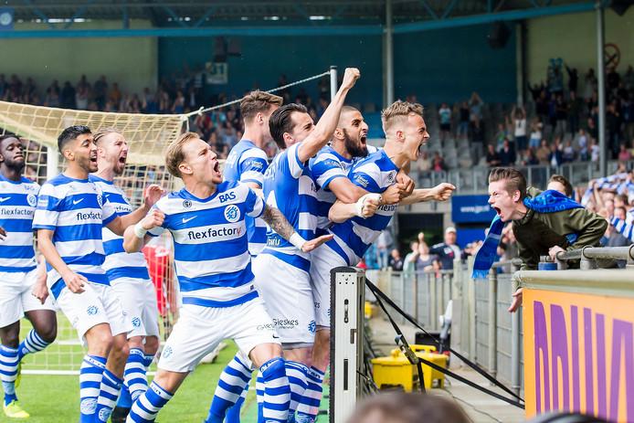 De Graafschap promoveerde afgelopen seizoen via de play-offs naar de eredivisie.