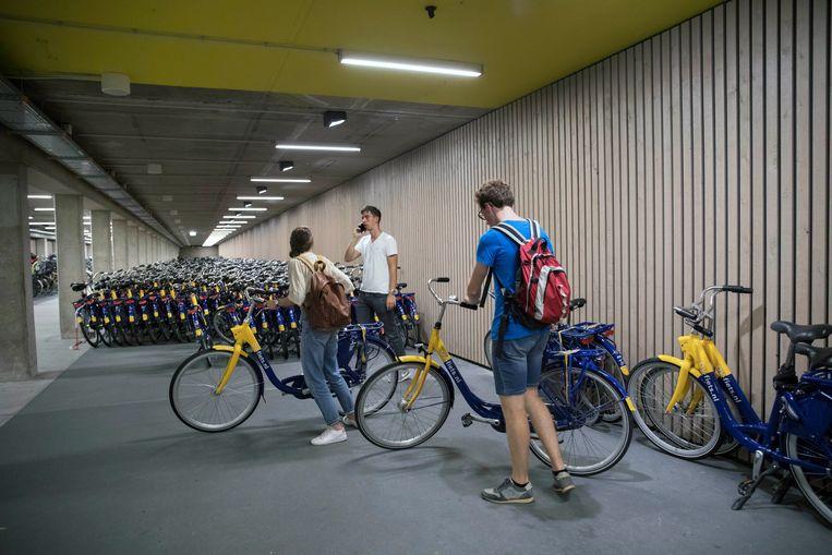 Bijna Heel Nederland Pakt De Geelblauwe Ov Fiets Trouw