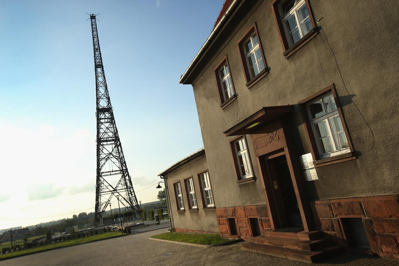 Het radiostation dat bekend werd door het 'Gleiwitz-incident'.
