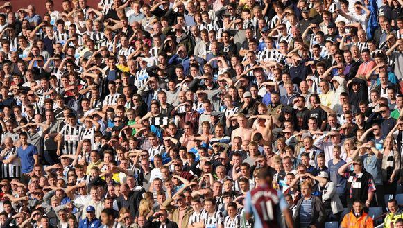 Fans van Newcastle United