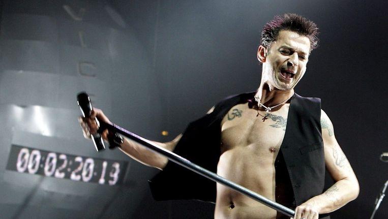 Dave Gahan - zanger van Depeche Mode Beeld ANP