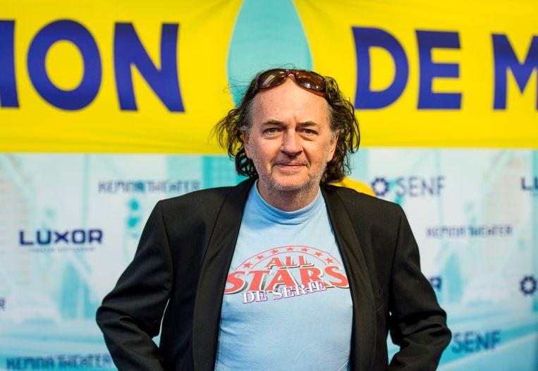 Jean van de Velde: 'Nee, dit wordt geen commerciële hit, heb ik steeds tegen mijn producent gezegd. Maar er zijn veel mensen die zich in de jaren zeventig, tachtig, om de Zuid-Afrikaanse zaak bekommerden.' Beeld ANP Kippa