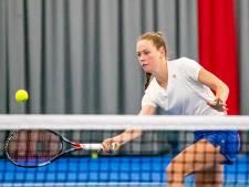 Tennister Stephanie Visscher geniet na internationale toernooien weer van stamppotmaaltijd