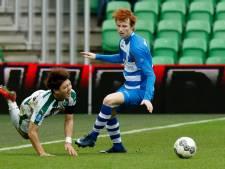 Basisdebuut voor PEC Zwolle-verdediger Van den Berg (16) tegen Feyenoord