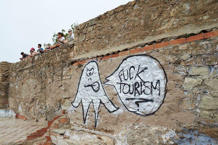 Aanslag met verf op toeristenbus in Barcelona