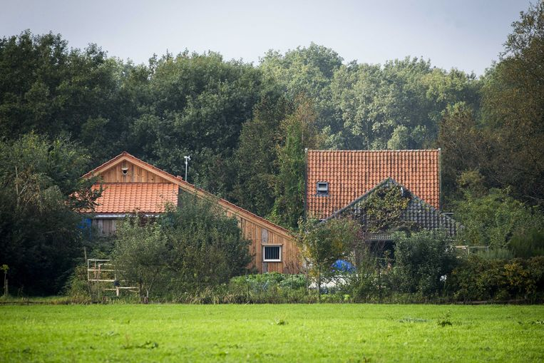 De boerderij in Ruinerwold. Beeld Vincent Jannink/EPA