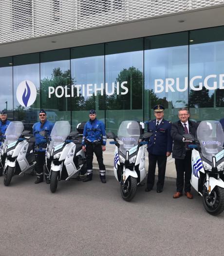 Brugse politie kiest voor elektrische scooters in de binnenstad