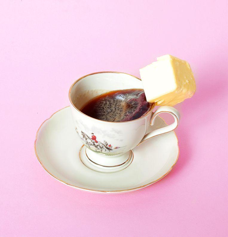 Boter bij de koffie Beeld null