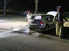 Auto in brand bij recreatiegebied Berkendonk in Helmond