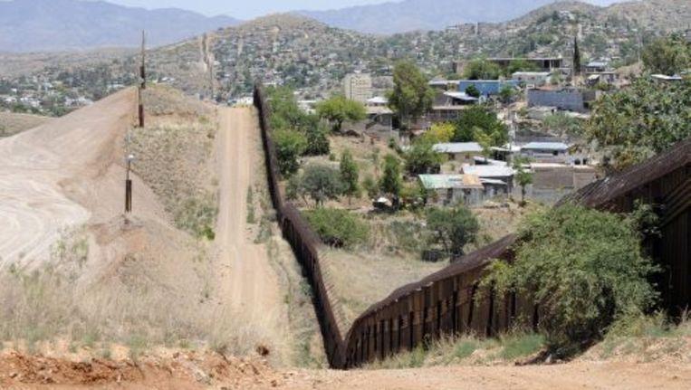 De grens tussen Mexico en de Verenigde Staten. ANP Beeld