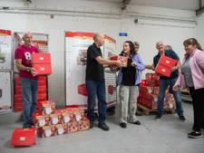 Voedselbank Breda blij met 101 postcodeloterijprijzen
