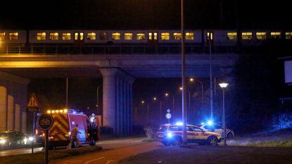 Dakloze aangereden door trein overleeft ongeval wonderwel