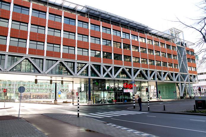 Het gebouw van het Openbaar Ministerie in Den Haag.