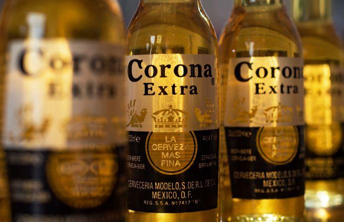 Flessen Corona-bier