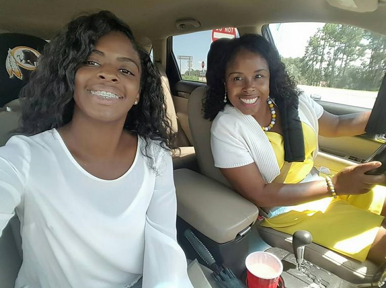 Kamiyah Mobley met haar kidnapster Gloria Williams.