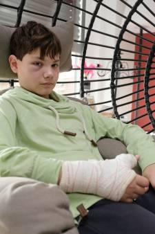 Mauro, 12 ans, gratuitement agressé devant chez lui alors qu'il attendait sa mère