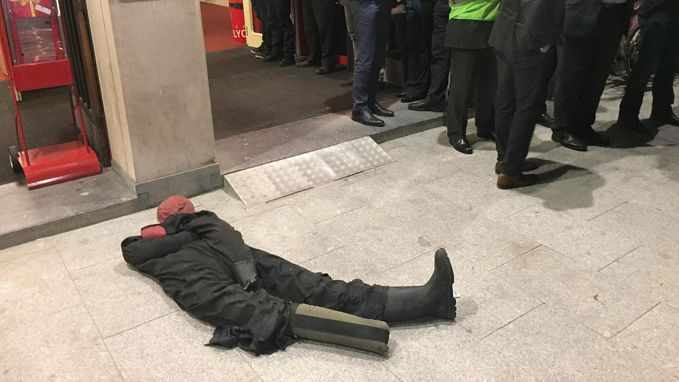 Grote terreuroefening in theaterzaal in Antwerpen afgerond