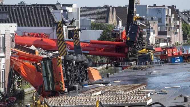 Video toont drama: bouwkranen vallen om, twijfel over aantal gewonden