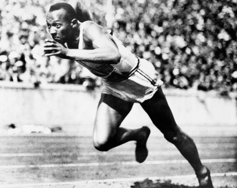 Jesse Owens won vier gouden medailles in 1936