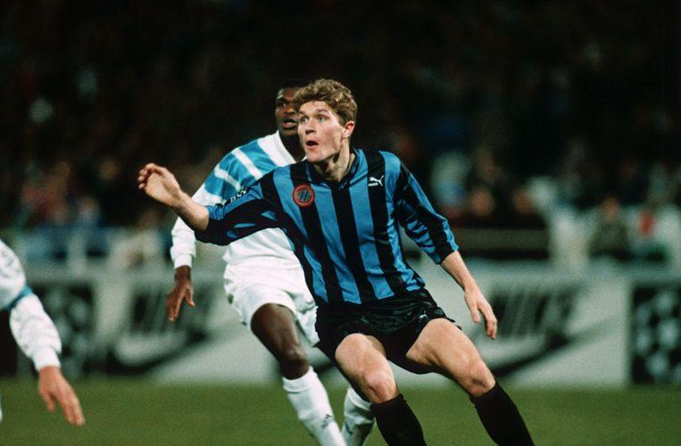 Gert Verheyen tijdens de Champions League-wedstrijd tegen Olympique Marseille.